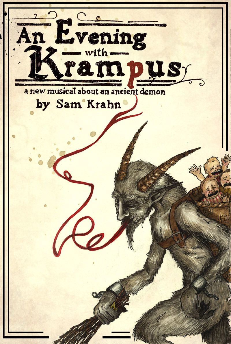 An Evening with Krampus poster