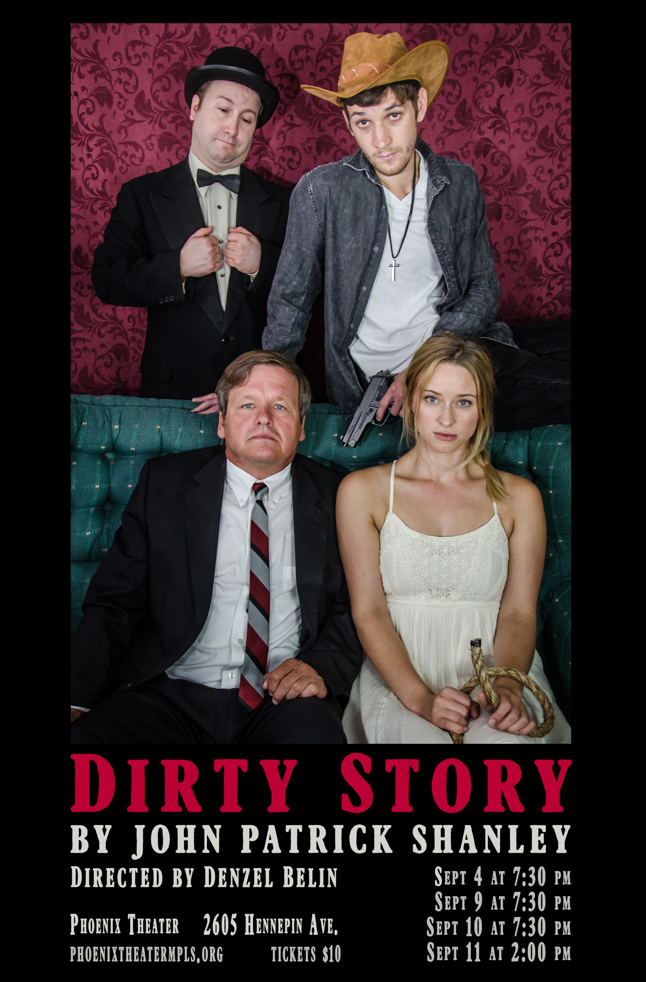 Dirty Story poster 2